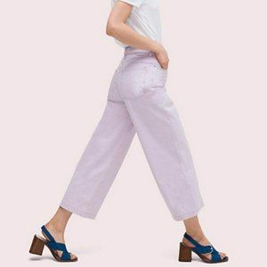 NWT Kate Spade Button Front Crop Pants